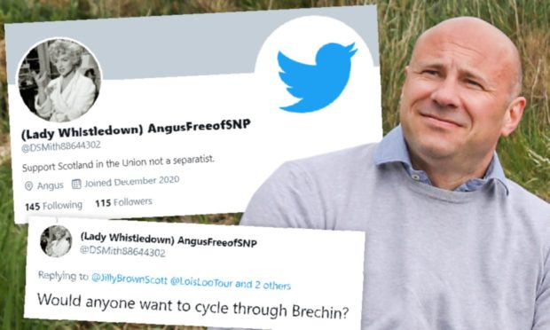 Councillor Derek Wann was unmasked as a social media troll.