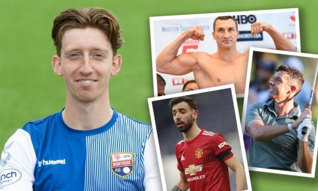 Matty Allan has met Bruno Fernandes, Wladimir Klitschko and Rory McIlroy in his role as a PT