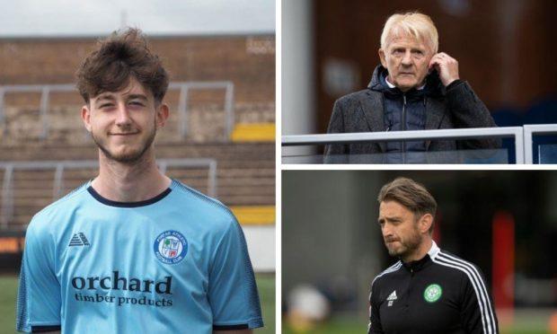 Luke Strachan is keen to follow in footsteps of grandad Gordon and dad Gavin