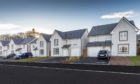 The most recent homes constructed by Barratt and David Wilson Homes in Monifieth.