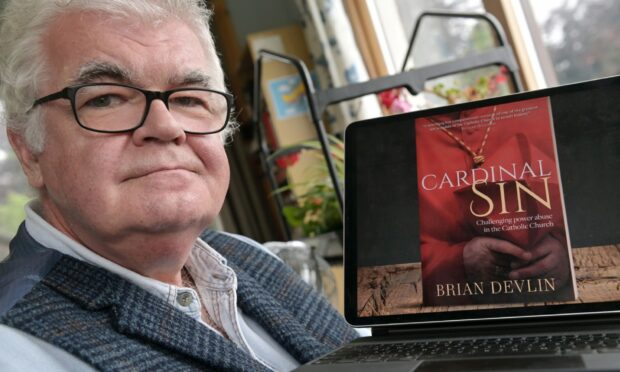 Brian Devlin said he was compelled to write the book. Picture by Sandy McCook