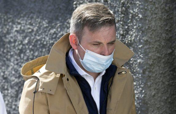 Jamie Hunter at Perth Sheriff Court