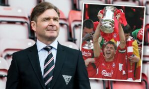 Peter Grant rues 'unbelievable' Steven Gerrard in Liverpool FA Cup final – as Dunfermline aim to heap misery on Rangers
