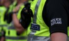 Fife police cyclist A985
