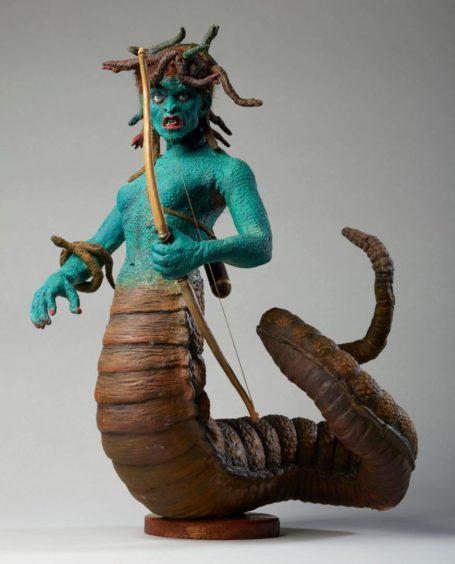 Medusa model by Ray Harryhausen.