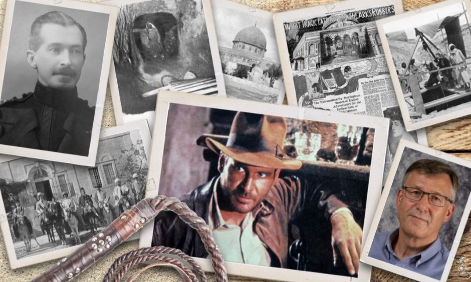 Graham Addison has unveiled the story of the real-life Raiders of the Hidden Ark in Palestine.