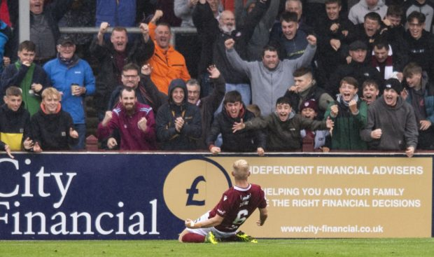 Nicky Low has vowed to cheer Arbroath onto glory while injured