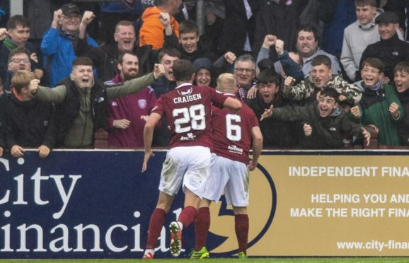 Nicky Low has taken the Arbroath fans into his heart