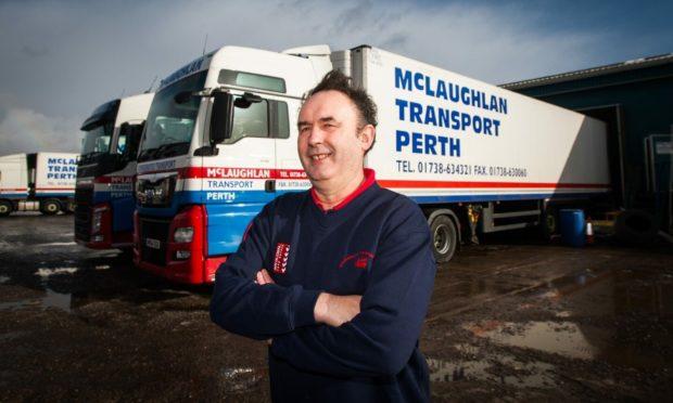 George McLaughlan of McLaughlan Transport.