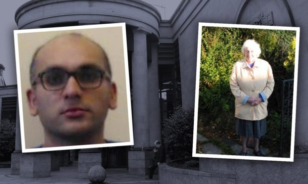 Sandeep Patel has been given a life sentence for murdering Annie Hall in her Fife home