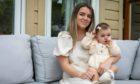 Amanda Cramb with her daughter Annie, who inspired her to start online baby shop Annie's Accessories.