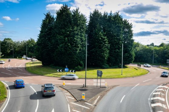 Preston Roundabout was closed for over an hour on Sunday