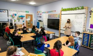 Parents across Tayside and Fife are being asked to keep an eye out for any changes in their children's school before the new term starts later this month.