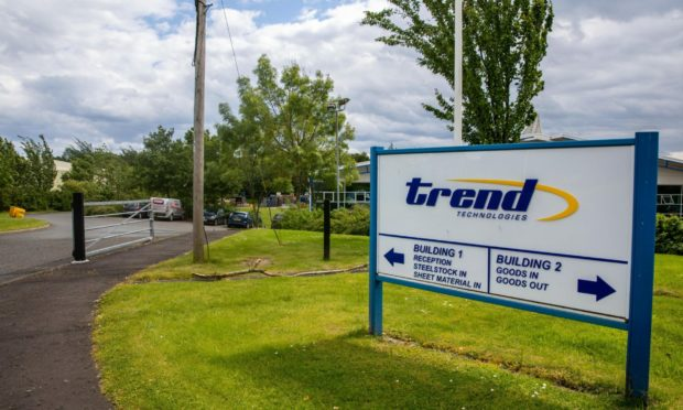 Trend Technologies reports sales down 31% due to Covid-19.