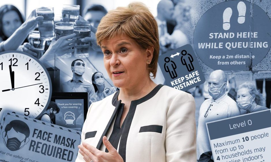 Nicola Sturgeon covid lockdown update