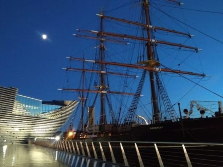 The Discovery, alongside the V and A, is one of Dundee's most popular attractions.