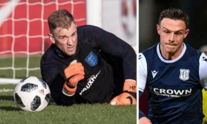 'Surreal': Dundee defender Jordan Marshall on the prospect of facing ex-England No 1 Joe Hart in Celtic clash