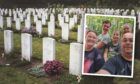 The Braam family and Venray War Cemetery