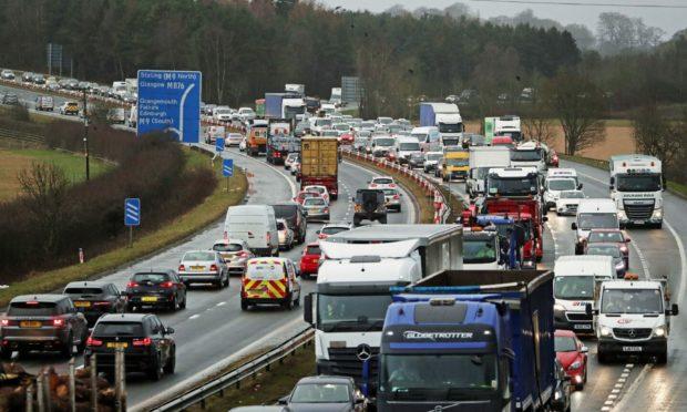 a876 road closures
