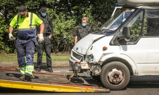 dundee kingsway crash