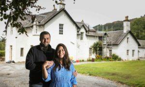 Tom Tsappis and his soon-to-be wife Matilda Ruffle.