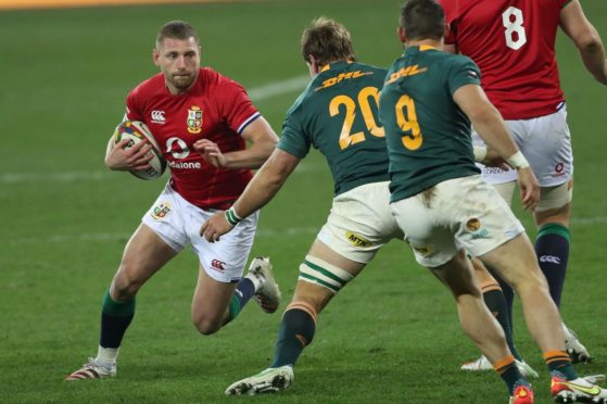 Finn Russell couldn't quite turn the series in the Lions' favour.