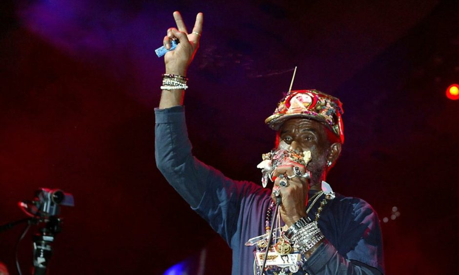 The legendary Lee Scratch Perry.