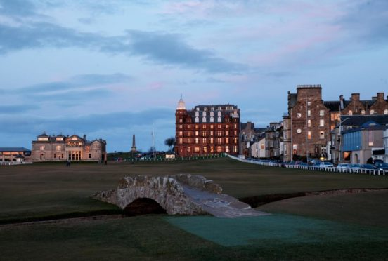 The Old Course at St Andrews is the site of next year's 150th Open.