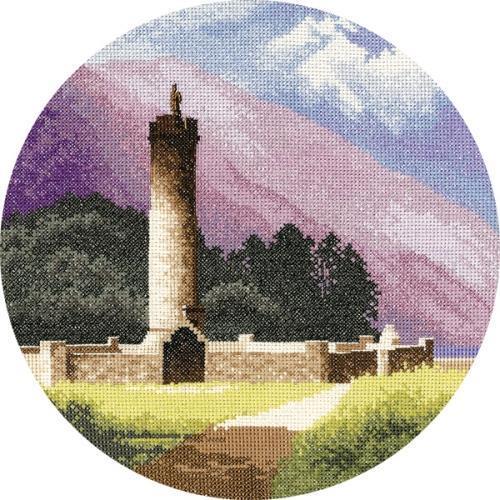 Bonnie Prince Charlie Monument Cross Stitch