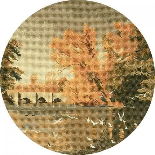 Autumn Reflections Cross Stitch Design