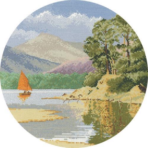 Calm Waters Cross Stitch Design
