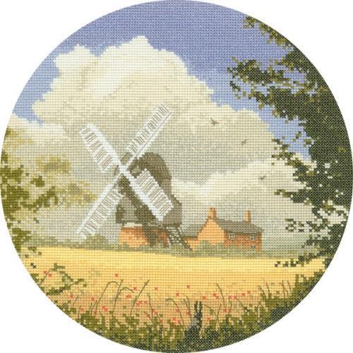 Windmill Cross Stitch Design
