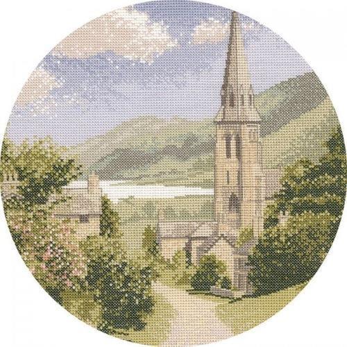 Lakeside Cross Stitch Design