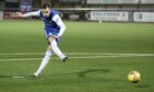 Graham Webster has never missed a penalty for Montrose and hopes his scoring streak continues
