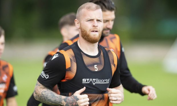 Mark Connelly is fighting fit for Dundee United ahead of Sunday's derby