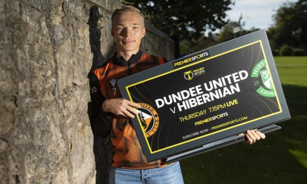 Ilmari Niskanen will star for Dundee United against Hibernian on Thursday