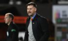 Tam Courts believes Dundee United were hard done by against Hibernian