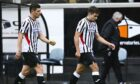 Stalemate: Dorrans, left, and Comrie