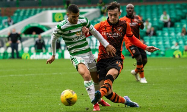 Dylan Levitt is in terrific form for Dundee United