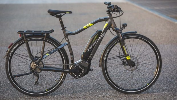 One of the bikes stolen from an Auchterarder bike shop
