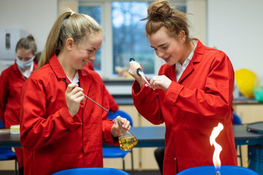 Kilgraston School staff use traditional teaching methods and encourage innovative thinking