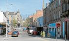 High Street in Lochee (stock image)