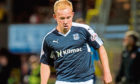 Gary Harkins could be back to face United at Tannadice on Saturday.
