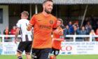 Dundee United's Nicky Clark
