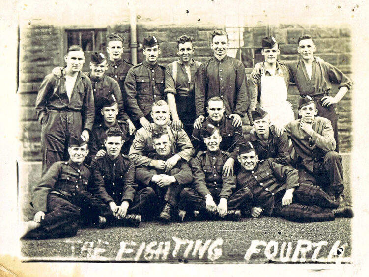 """The """"Fighting Fourth"""" - aka, Dundee's Own."""