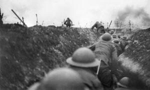 Harrowing scene from the Battle of Loos.