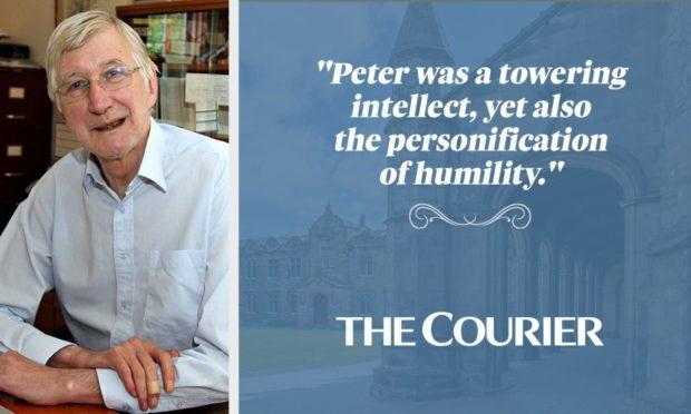 Professor Peter Clark of Tayport