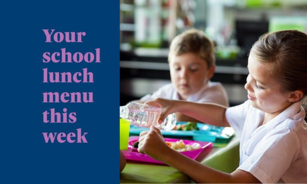 What's on offer from the school canteen this week?
