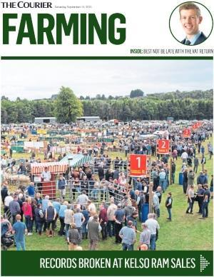 To go with story by Sarah Williamson. To go on Courier business and supplement pages Picture shows; Cover image of Courier Farming supplement. N/A. Supplied by DCT Media Date; Unknown