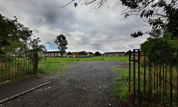 The former school site could soon be transformed into a community park.